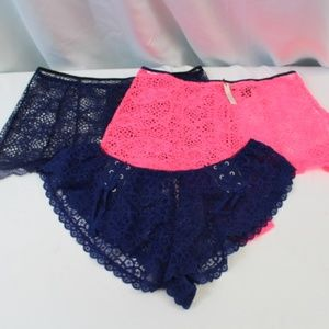 Victoria's Secret Intimates & Sleepwear - *B270 Victoria's Secret 3 Piece Panty Set
